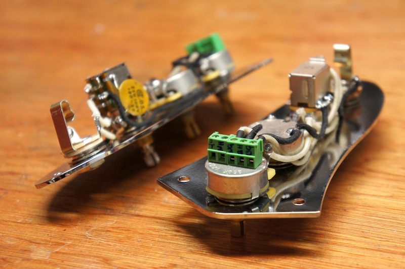 Solderless guitar wiring harness diagram