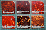 Tortoiseshell pickguard Colour variants