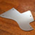 brushed aluminium pickguard