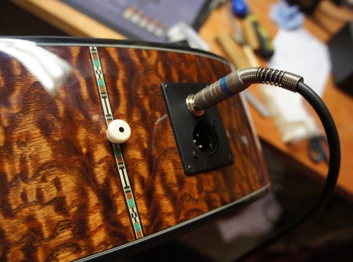 Kết quả hình ảnh cho jack hole guitar acoustic
