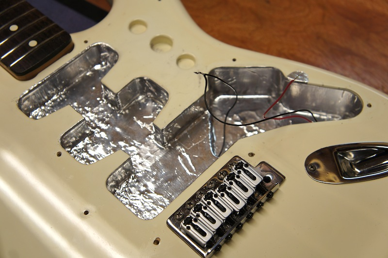 Guitar Shielding | Jack\'s Instrument Services