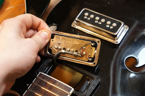 Guitar pickup upgrades